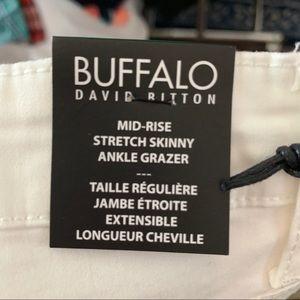 Buffalo David Bitton Jeans - NEW White skinny ankle/Capri jeans